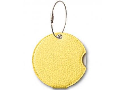 Jmenovka na kufr Addatag PU - Gentle yellow
