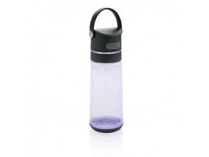XD Design, Party 3v1, láhev s reproduktorem a LED světlem, 650 ml