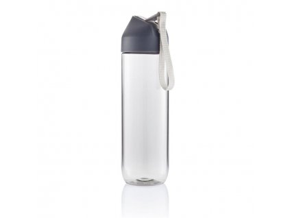 XD Design, Neva, sportovní Tritan láhev, 450 ml, šedá