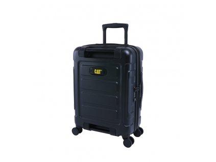 CAT kufr STEALTH, 32 l, polykarbonát, černý  + LED svítilna
