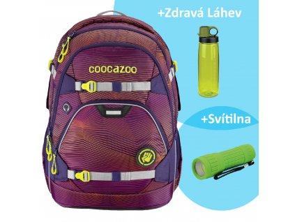 Školní batoh coocazoo ScaleRale 30l Sonicl.Purple, certifikát AGR