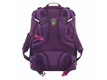 Školní batoh coocazoo ScaleRale, Laserbeam Plum, certifikát AGR