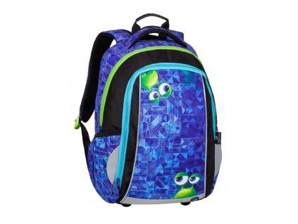 Klučičí školní batoh BAGMASTER MARK 20 B + hrudní pásek  + LED svítilna