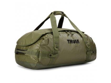 Thule cestovní taška Chasm M 70 L TDSD203O - olivová  + LED svítilna