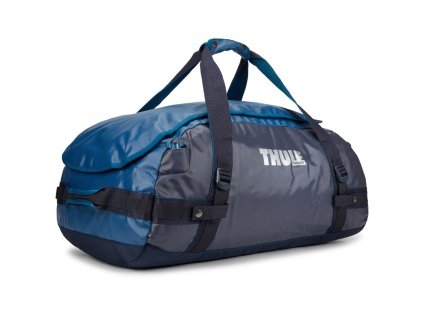 Thule cestovní taška Chasm M 70 L TDSD203P - modrá  + LED svítilna
