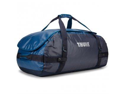 Thule cestovní taška Chasm L 90 L TDSD204P - modrá  + LED svítilna