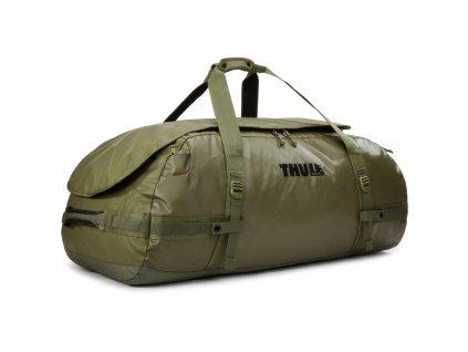 Thule cestovní taška Chasm XL 130 L TDSD205O - olivová  + LED svítilna