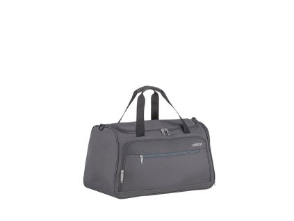 American Tourister HEAT WAVE taška 55 cm 50L Charcoal Grey