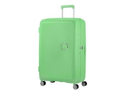 American Tourister SOUNDBOX L 77/28 TSA EXP - Jarní zelená  + LED svítilna