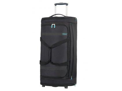 American Tourister HEROLITE taška na kolečkách 79 cm 84L VOLCANO BLACK  + LED svítilna