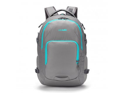 PACSAFE batoh VENTURESAFE 28L G3 BACKPACK polar ice  + LED svítilna