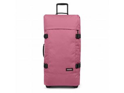 EASTPAK TRANVERZ L Salty Pink  + LED svítilna
