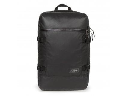 EASTPAK Tranzpack Topped Black  + LED čelová svítilna
