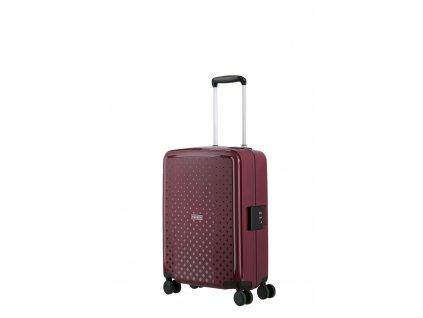 Travelite Terminal S Lilac  + LED svítilna