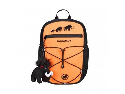 Mammut First Zip 16 safety orange-black