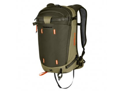 Mammut Light Protection Airbag 3.0 boa-iguana 30 l  + LED svítilna