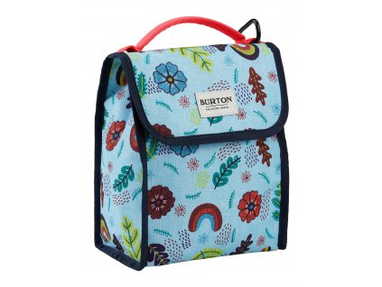Burton LUNCH SACK EMBROID FLORAL PRINT