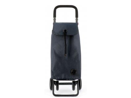 Rolser I-Bag MF 4.2 Plus nákupní taška na kolečkách, tmavě šedá  + LED čelová svítilna