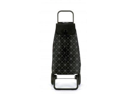 Rolser I-Max Star RG nákupní taška na kolečkách, černo-bílá