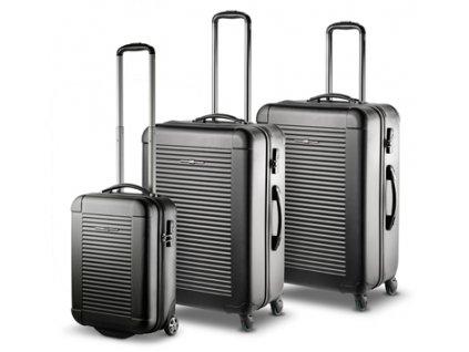 Ciak Roncato 101 PC Light S,M,L Black – sada 3 kufrů  + Sluchátka, myš nebo pouzdro