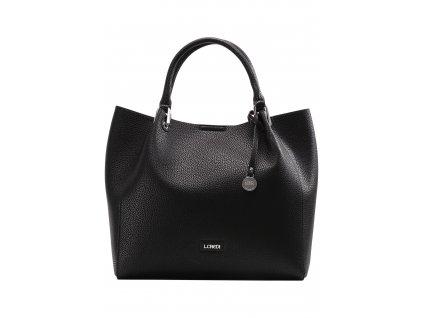 L.CREDI Ember Handbag Black  + LED svítilna