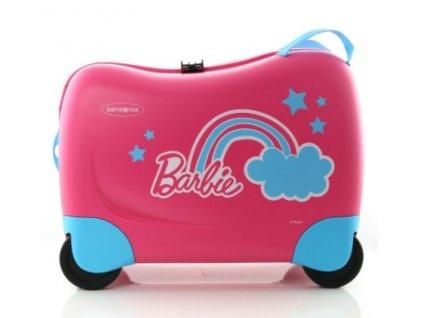 Samsonite Dream Rider Spinner Barbie  + LED svítilna