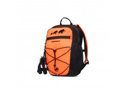 Mammut First Zip 4 safety orange-black