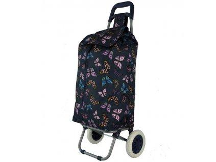 Nákupní taška na kolečkách HOPPA ST-105 - modrá