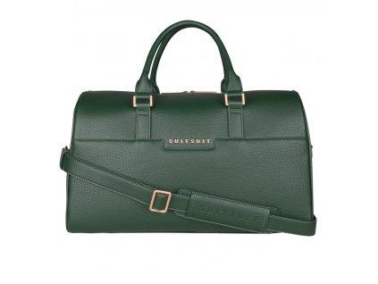 Cestovní taška SUITSUIT® BS-71620 Classic Beetle Green  + LED svítilna