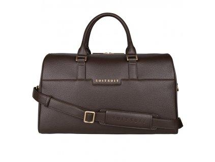 Cestovní taška SUITSUIT® BS-71630 Classic Espresso Black  + LED svítilna