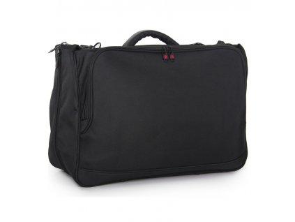 Cestovní taška na obleky IT Luggage 30-0842 - černá  + LED čelová svítilna