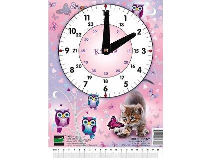 Školní hodiny Dream - Kitty