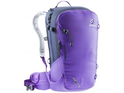 Deuter Freerider 28 SL violet-navy  + LED svítilna