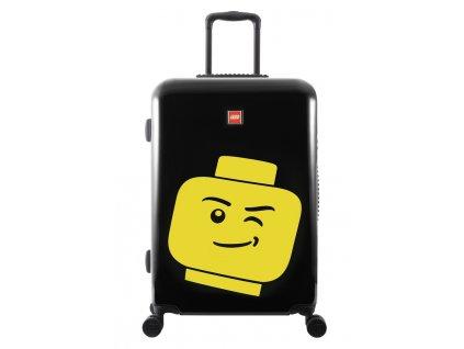 """LEGO Luggage ColourBox Minifigure Head M 24"""" - Černý"""