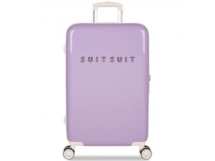 Cestovní kufr SUITSUIT® TR-1203/3-M - Fabulous Fifties Royal Lavender  + LED čelová svítilna