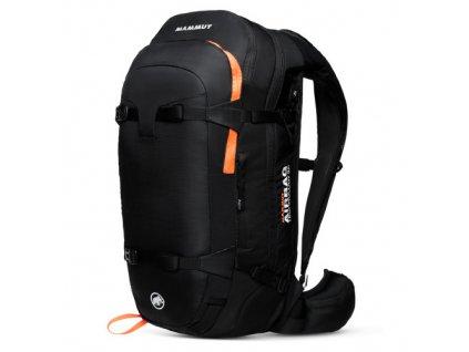 Mammut Pro Protection Airbag 3.0 35 l black-vibrant orange  + LED čelová svítilna