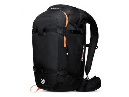 Mammut Pro Protection Airbag 3.0 45 l black-vibrant orange  + LED čelová svítilna