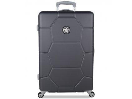 Cestovní kufr SUITSUIT® TR-1226/3-M ABS Caretta Cool Gray  + LED svítilna