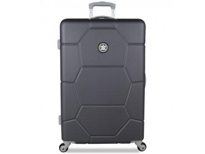 Cestovní kufr SUITSUIT® TR-1226/3-L ABS Caretta Cool Gray  + LED svítilna
