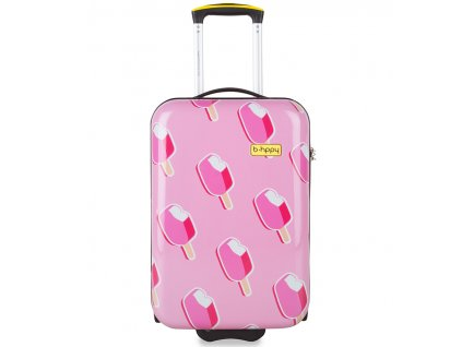 Kabinové zavazadlo B.HPPY BH-1602/3-S - Ice on Holiday  + Sluchátka, myš nebo pouzdro