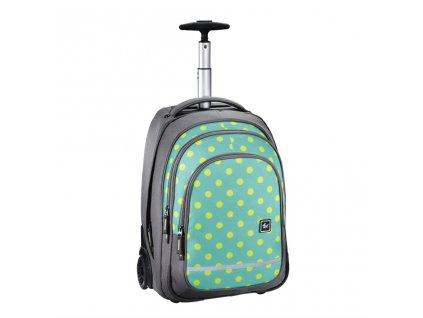 Trolley All Out, Mint Dots  + Sluchátka, myš nebo pouzdro