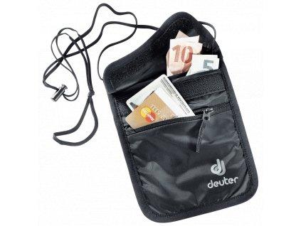 Deuter_Security_Wallet_II_black_-_peněženka