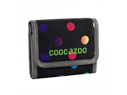 Peněženka CoocaZoo CashDash, Magic Polka Colorful