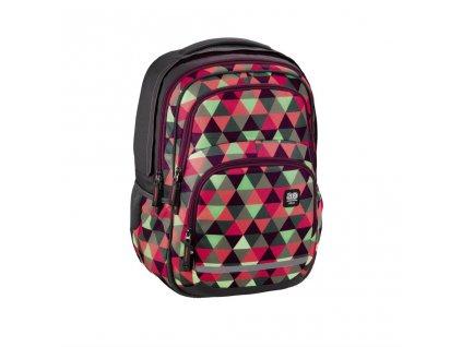 Školní batoh All Out Blaby, Happy Triangle  + Sluchátka, myš nebo pouzdro