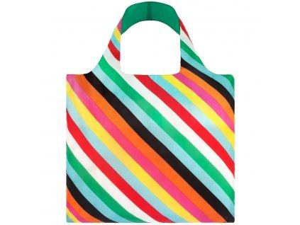 original stripes reusable shopping bag