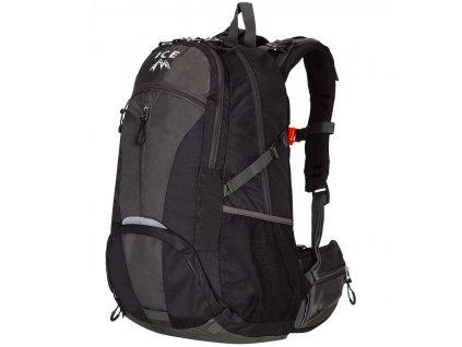 Batoh sportovní Mountain ICE 7582 - černá/šedá