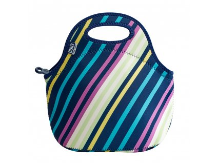 Built Gourmet Getaway Lunch Tote Montauk Stripes