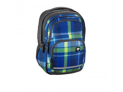 Školní batoh All Out Blaby, Woody Blue  + LED svítilna