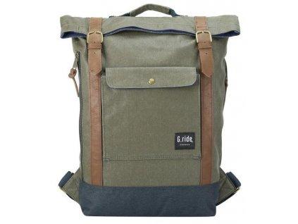 G.RIDE batoh BALTHAZAR navy/khaki  + Sluchátka, myš nebo pouzdro
