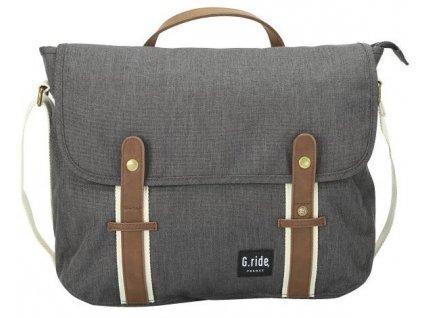 G.RIDE taška BETTY black  + LED svítilna